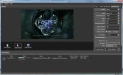 multi-format, multi-screen transcoder MPEG-2, H.264 AVC VC1 MXF DV formats