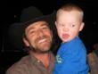 Western Wishes Recipient Poses With Actor and Director Luke Perry