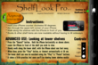 ShelfLook Pro Info Screen