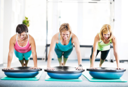 30 minute of high intensity interval training and resistance training. at Chicago Women's Fitness
