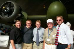 Sztanyo Family at 2002 Bristol Beaufighter Revealing - Military Milestones