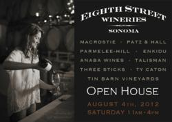 Eighth Street Wineries Open House, Summer 2012