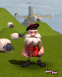 Grumpy the Scotsman from Happy Pals
