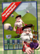 Grumpy playing the Bagpipes