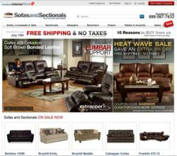 Sofas And Sectionals Redesigned Home Page