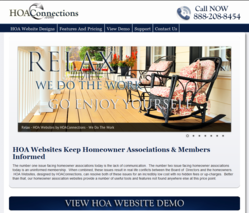 HOA Website by HOAConections