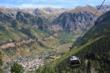 Gondola connecting Telluride and Mt. Village 