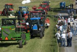 Field demonstrations are one of the many events visitors enjoy at Ag Progress Days.