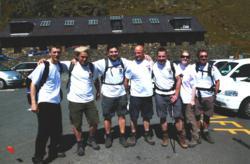 Plumbs Employees on Completeing the Three Peaks Challenge