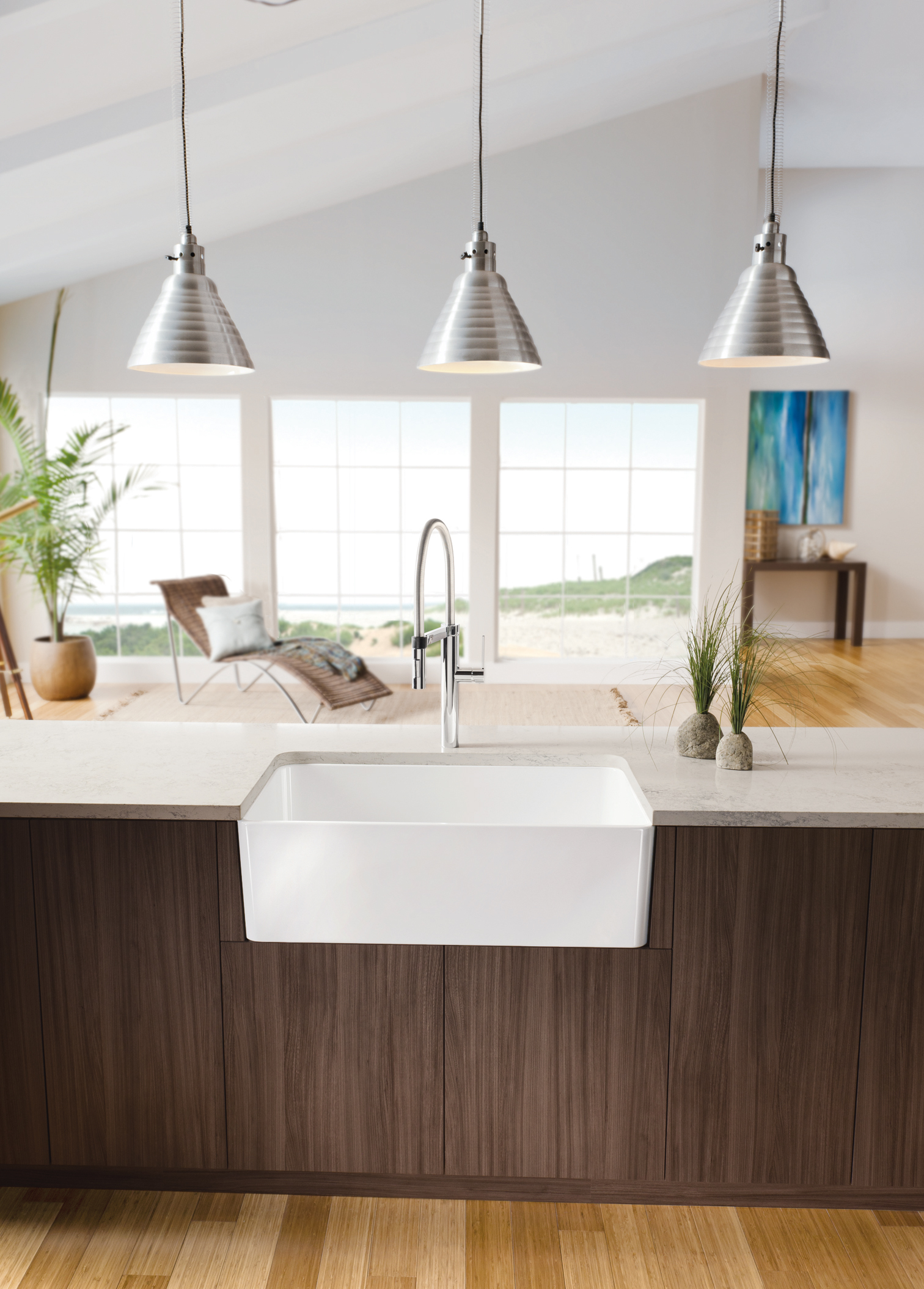 blanco introduces the cerana罎邃笋 apron front kitchen sink