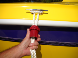 Never tie knots again when you have a Super Rope Cinch on hand