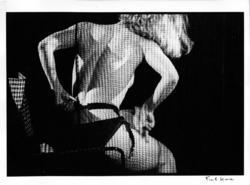 At the Crazy Horse D, Paris, 1962, Photograh by Frank Horvat