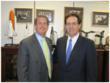 Senator David Vitter (R-LA) with ICPI Government Relations Counsel Randall Pence