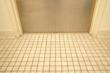 Tile floors and coarse grout are a major maintenance problem for hospitals.