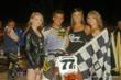 Slideways Racing Winner Stanislaus Fairgrounds Flat Track Motorcycle Race
