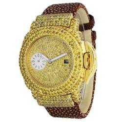 Cee Lo Custom Yellow Diamond Watch
