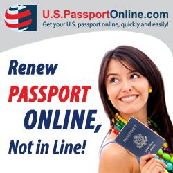 Passport Renewal Online with USPassportOnline.com
