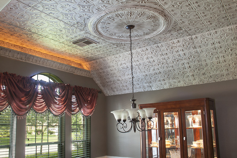 this tin ceilings adds elegance to a room the upper class elitethis is a victorian design with a faux finish - Tin Ceilings