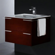Read Oak Single Wall Mounted Bathroom Vanity From Vigo Industries VG09003106K1