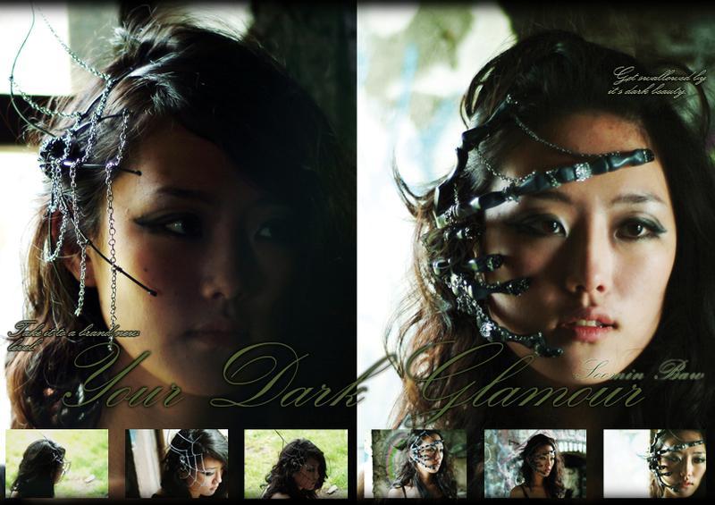 Dark Glamour Jewelry by Soomin Bae