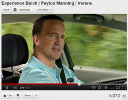 Payton Manning New Spokesperson for Buick