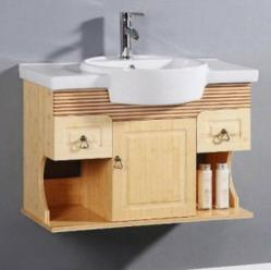 Spa Style Bamboo Wall Mounted Vanity From Legion Furniture WTB9010