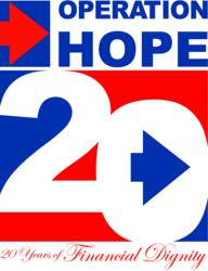 Operation HOPE 20 year Anniversary Logo