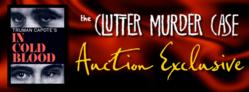 Clutter Murder Case Archive Auction