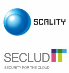 SecludIT and Scality Logos