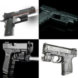 Pistol Light Systems for 1911, Glock, Springfield, XD & XDM, S&W M&P, and Pistols with Rails