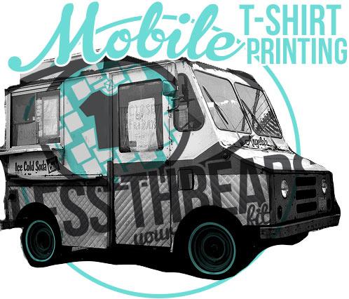 Custom t shirt printer to debut mobile custom t shirt for T shirt screen printing san diego