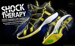 """Shock Therapy"" In Black/Blue/Lightning"