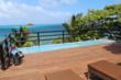 Stunning sea views from the rooftop infinity edged whirlpool