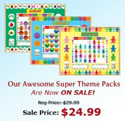 Theme Pack sale at Hygloss Products.
