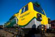 Freightliner's State of the art PowerHaul locomotive enableFreightliner to uniquely haul 30 wagon intermodal services