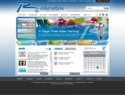 City of Richardson website powered by Vision Internet
