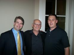 "Curt Maly with Phill Grove and George Ross from NBC's ""The Apprentice"""
