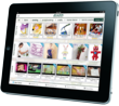 The Jo-Ann app for iPad and its Idea Center provide an engaging inspiration experience