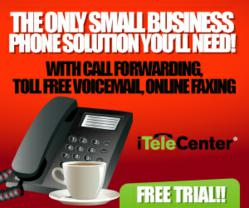 Virtual Phone System Banner Ad