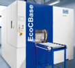 The EcoCBase W3 aqueous parts washer includes vacuum drying for totally dry parts, on display at IMTS