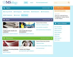 MSology: a free website for people affected by multiple sclerosis (MS)
