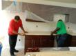Grenite® Sustainable Countertops installed by the YouthBuild Philadelphia Charter School.