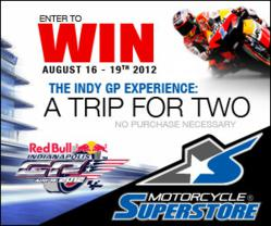 Motorcycle-Superstore.com Indy GP Experience Sweepstakes