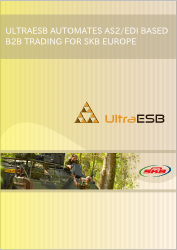 Case Study - UltraESB Automates AS2/EDI Based B2B Trading for SKB Europe
