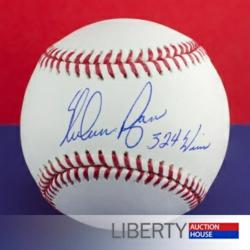 Police Auctions - Autographed Baseball
