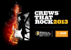 Crews That Rock 2013 logo