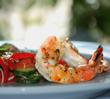 Beat the Heat and GO TEXAN with Chef Gorji's Wild-Caught Texas Brown Shrimp and Tomato Summer Salad