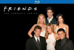 "The complete series of ""Friends"" on Blu-Ray is available for preorder at myhotelectronics.com."