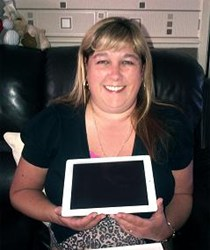 Debbie Jackson, iPad Winner