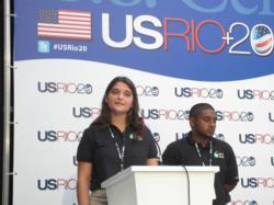 Conrad Challenge Students at Rio+20